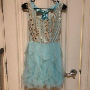 Junior party dress